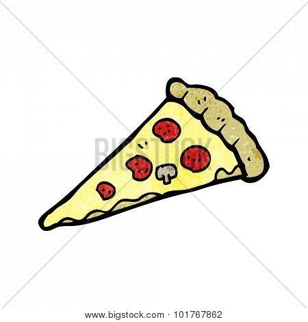 cartoon pizza