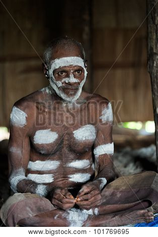 Portrait Of The Asmat