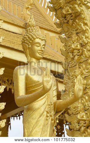 Golden Buddha.