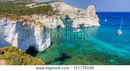 Kleftiko, Milos island, Cyclades, Greece