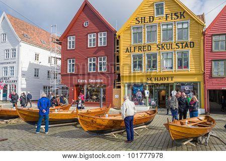 Bryggen in Bergen, Norway