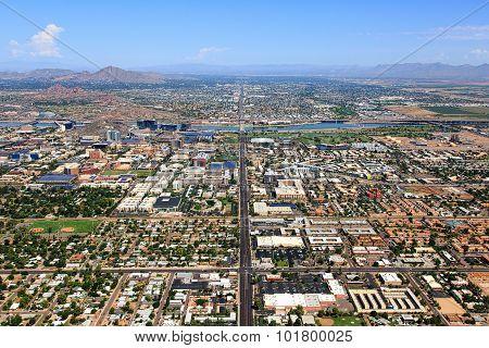 Tempe, Arizona Aerial