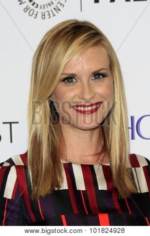 LOS ANGELES - SEP 12:  Bonnie Somerville at the PaleyFest 2015 Fall TV Preview - CBS Code Black at the Paley Center For Media on September 12, 2015 in Beverly Hills, CA
