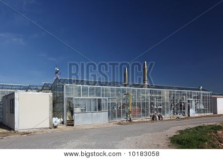 Industrial Modern Farm
