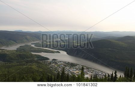 Yukon River from Dome Mountain