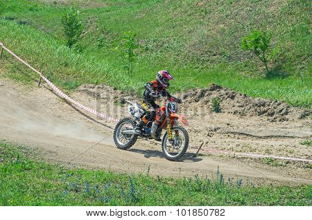 Young Motorcycle Racer