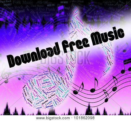 Download Free Music Shows No Charge And Application