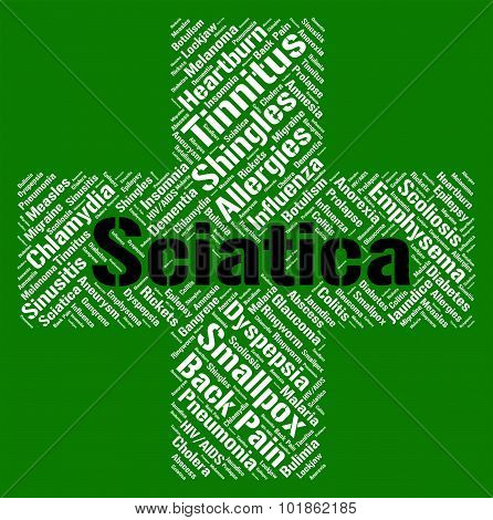 Sciatica Word Means Ill Health And Back