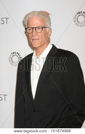 LOS ANGELES - SEP 16:  Ted Danson at the PaleyFest 2015 Fall TV Preview -