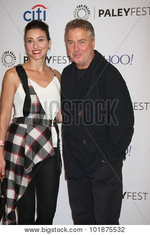 LOS ANGELES - SEP 16:  William Petersen at the PaleyFest 2015 Fall TV Preview -