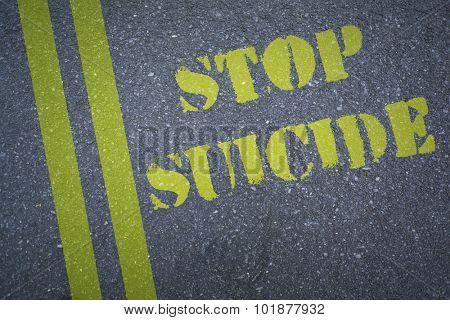 stop suicide against black