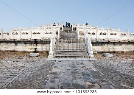 Photo of the Temple of Heaven complex.