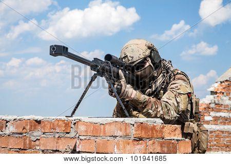 Army ranger sniper