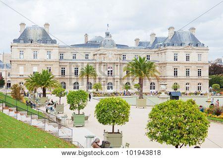 Luxemburg Garden, Paris