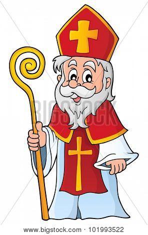 Saint Nicolas theme image 1 - eps10 vector illustration.