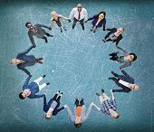 Team Corporate Togetherness Unity Connection Concept poster