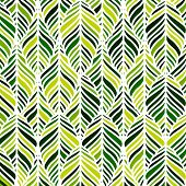 Vector decorative ornamental seamless spring pattern. Endless elegant texture with leaves. Pattern for design fabric, backgrounds, wrapping paper, package, covers. EPS poster