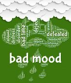Bad Mood Meaning Low Spirited And Sadly poster