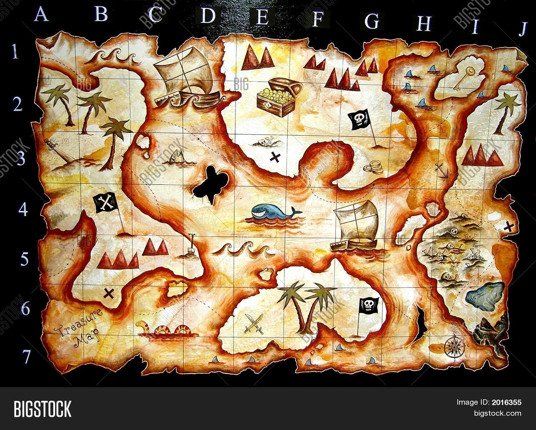treasure map image photo free trial bigstock