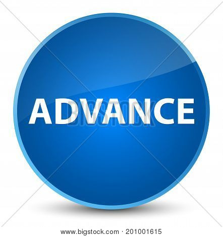 Advance Elegant Blue Round Button