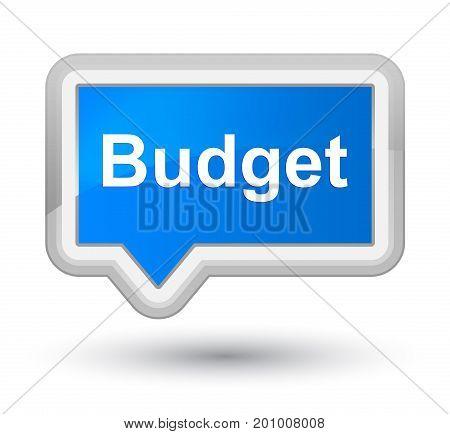 Budget Prime Cyan Blue Banner Button