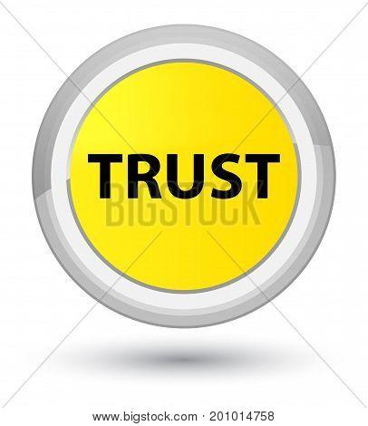 Trust Prime Yellow Round Button