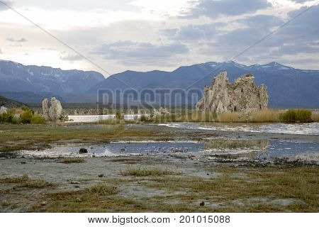 Rock Formations Of Mono Lake