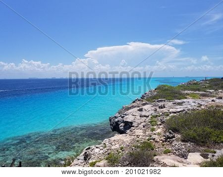 image took on the island las mujeres, Cancun, mexico