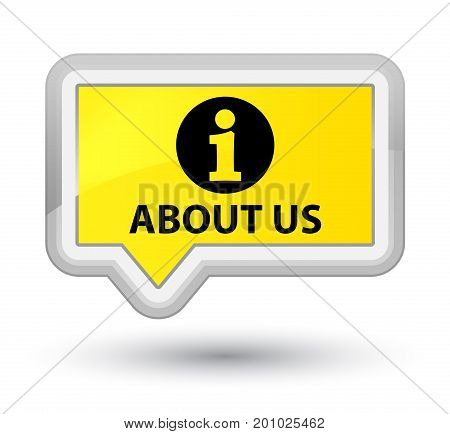 About Us Prime Yellow Banner Button
