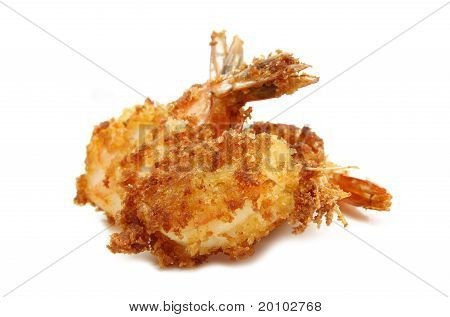 crispy fried prawn