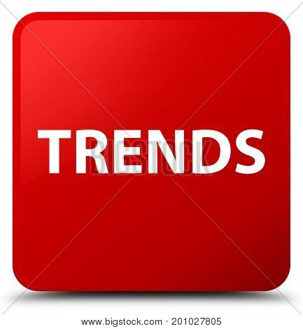 Trends Red Square Button