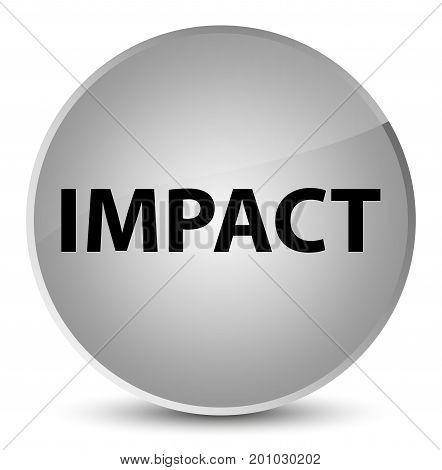 Impact Elegant White Round Button
