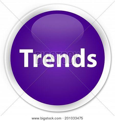 Trends Premium Purple Round Button