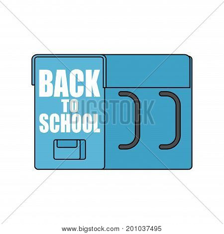 Back To School. Big Schoolbag. Illustration For September 1. Large Backpacks Isolated