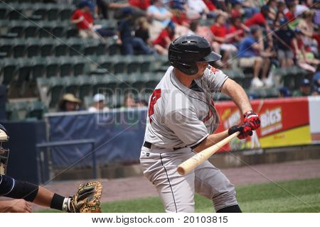 Indianapolis Indians catcher Wyatt Toregas