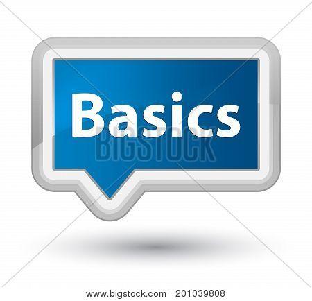 Basics Prime Blue Banner Button