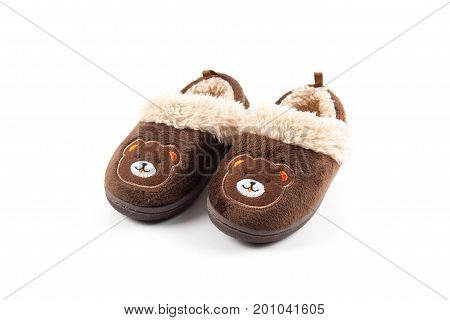 Baby Brown Slippers