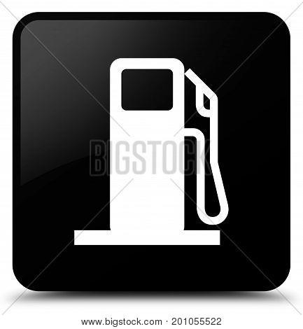 Fuel Dispenser Icon Black Square Button
