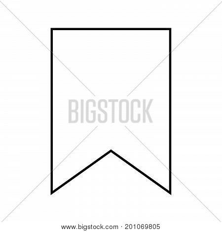 Bookmark Black Color Icon .