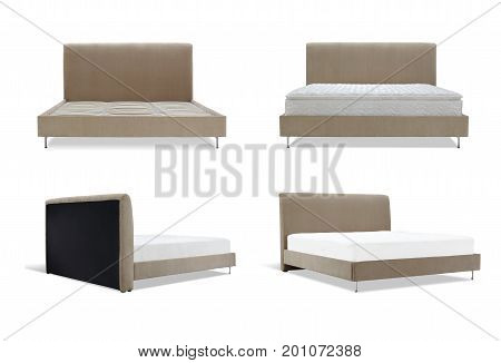Modern Brown Bed Furniture