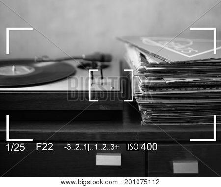 Music Camera Capture Snap Shot Banner