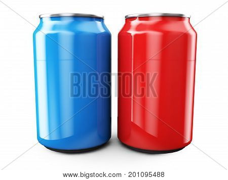 Aluminum can 3d render ideal for beer lager alcohol soft drinks soda fizzy pop lemonade cola energy drink juice water