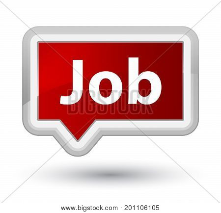 Job Prime Red Banner Button