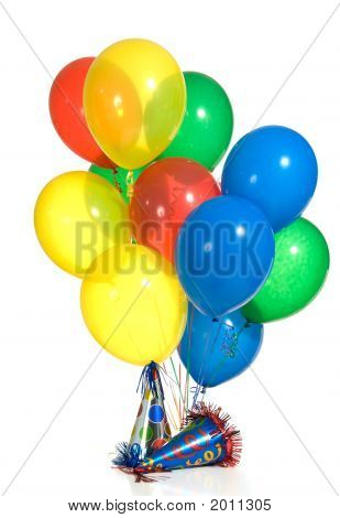 Balloons And Hats