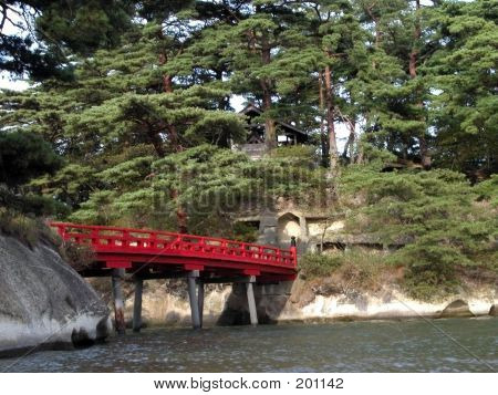 Japanese Red Bridge