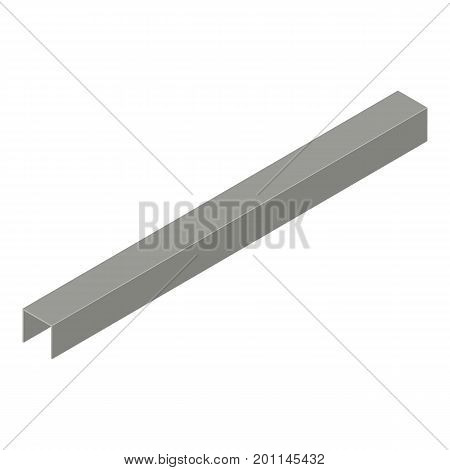 Profile plasterboard icon. Isometric illustration of profile plasterboard vector icon for web