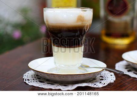 Café asiático típico del campo de Cartagena