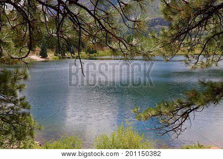 Summer at Haviland Lake in Durango, CO