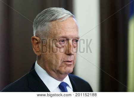 Us Secretary Of Defense James Norman Mattis