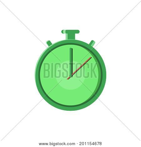 Fast Time Logo Quick Delivery Service line flat vector icon for mobile application, button and website design. Vector Illustration isolated on white background. Logo, app, infographic.